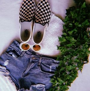 Other - Blue Denim Shorts *with rips*